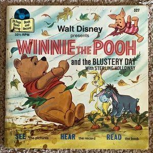 Vintage Winnie the Pooh 45 record